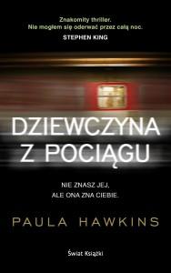dziewczyna z pociągu, king, paula hawkins, bestseller, recenzja, diana chmiel