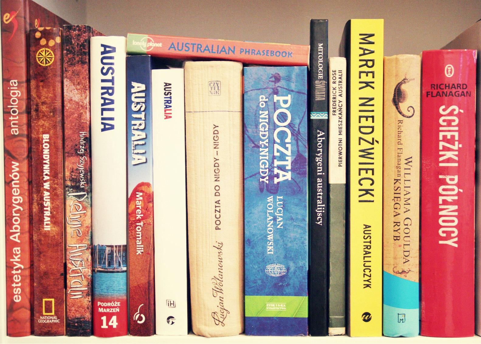 australia, książki o australii