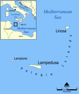 lampedusa imigranci włoska wyspa