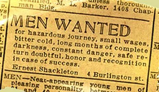 Ernest Shackleton, antarktyda