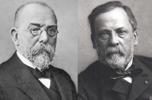 koch vs virchow Virchow's triad refers to the 3 primary influences for thrombus formation and it includes: 1) endothelial injury 2) stasis, turbulence or abnormal blood flow 3) blood hypercoagulability endothelial injury.