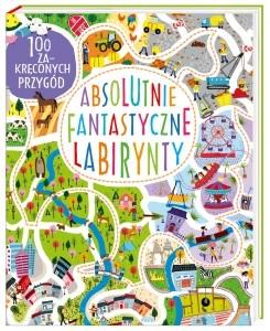 labirynty, książki dla dzieci