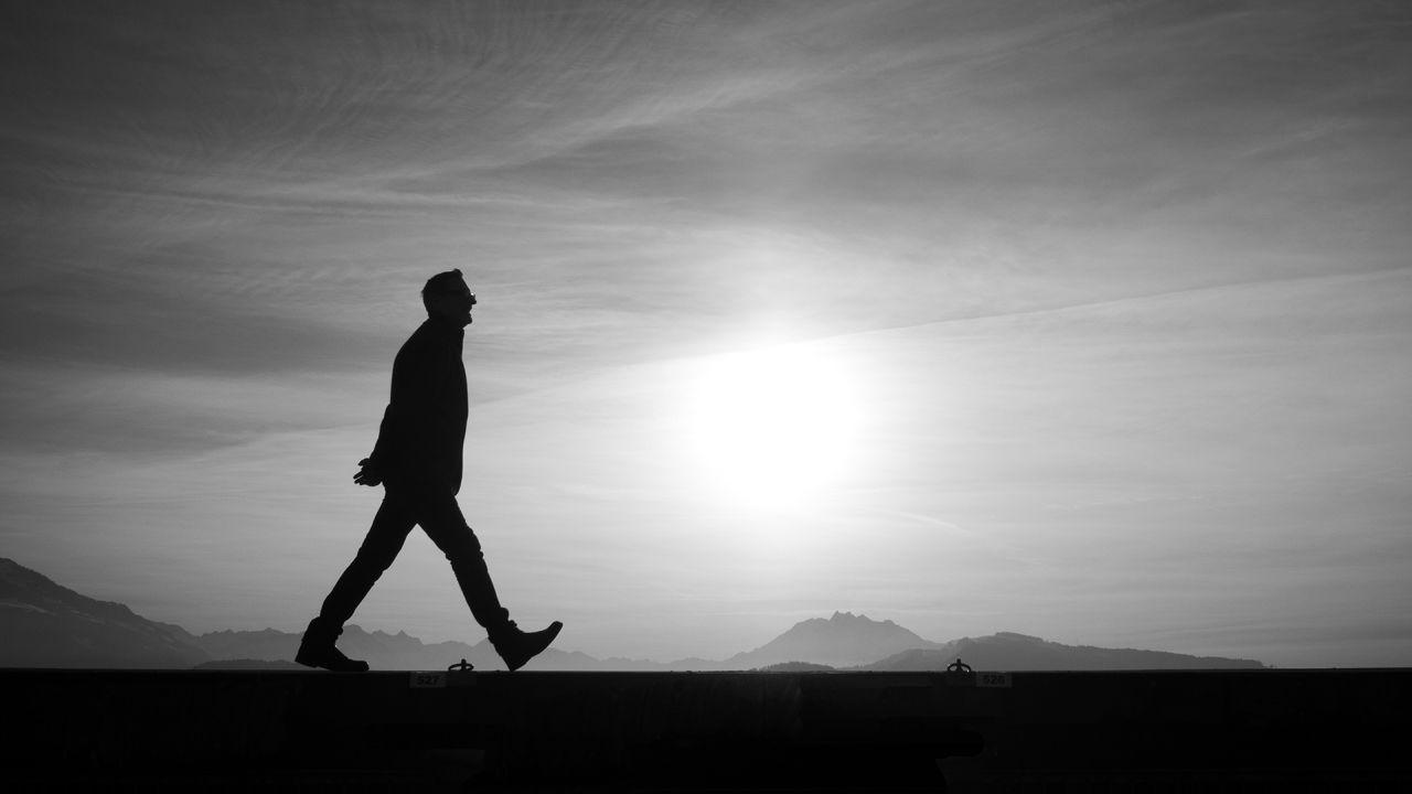 chodzenie, spacer, filozofia, gros