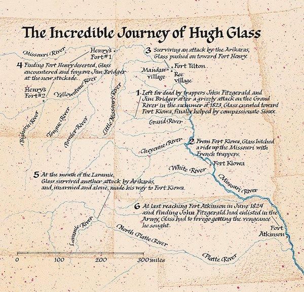 hugh glass, leonardo dicaprio, recenzja zjawy, zjawa