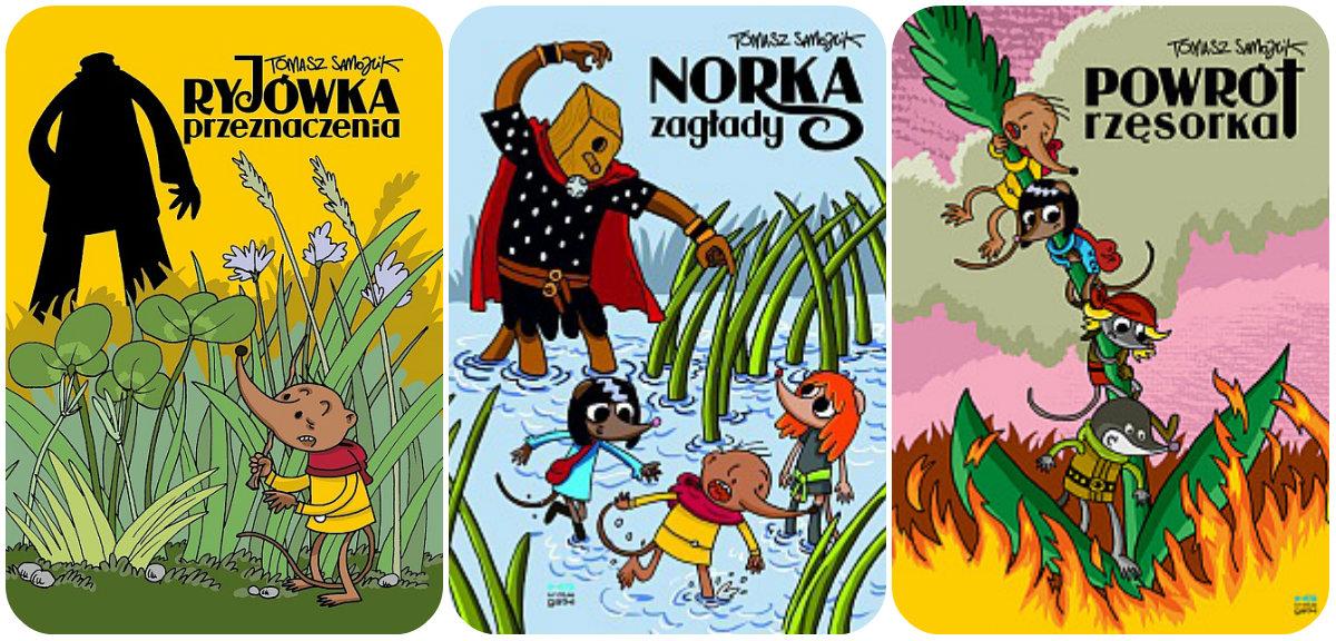 samojlik, komiksy, ryjówka przeznaczenia, dla dzieci