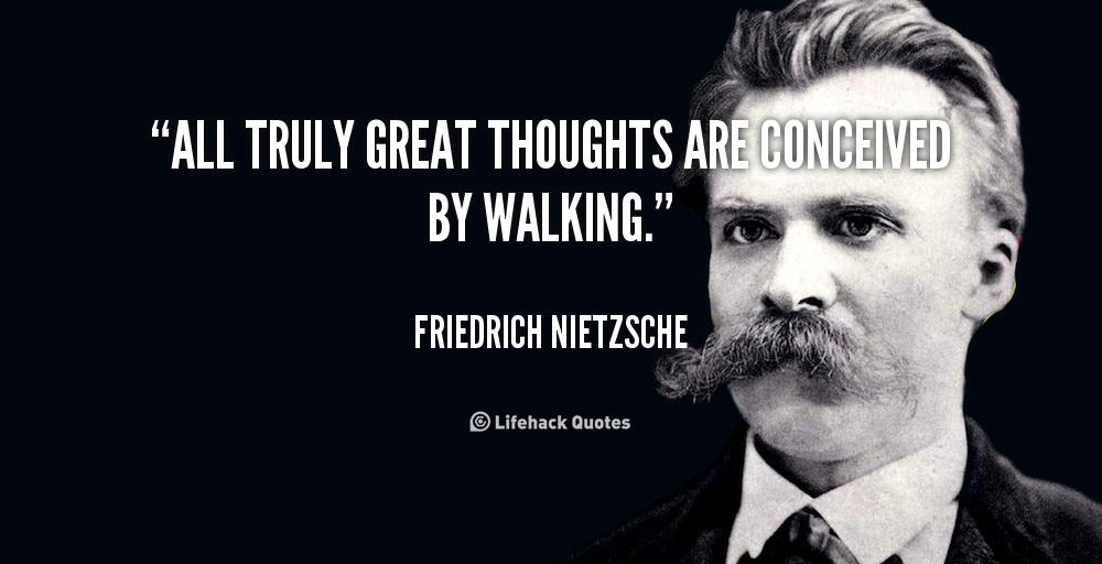 nietzsche, filozofia, chodzenie
