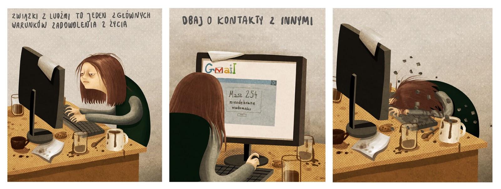 ilustracje, emilia dziubak