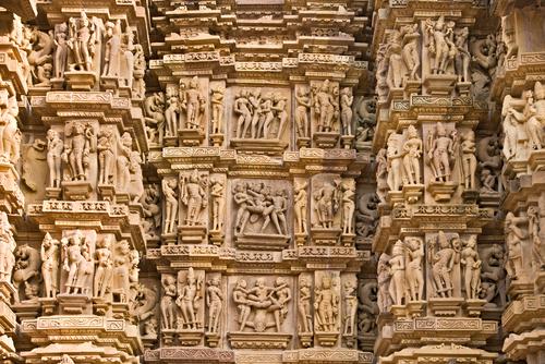 erotyka, świątynie, indie, hinduizm, kamasutra