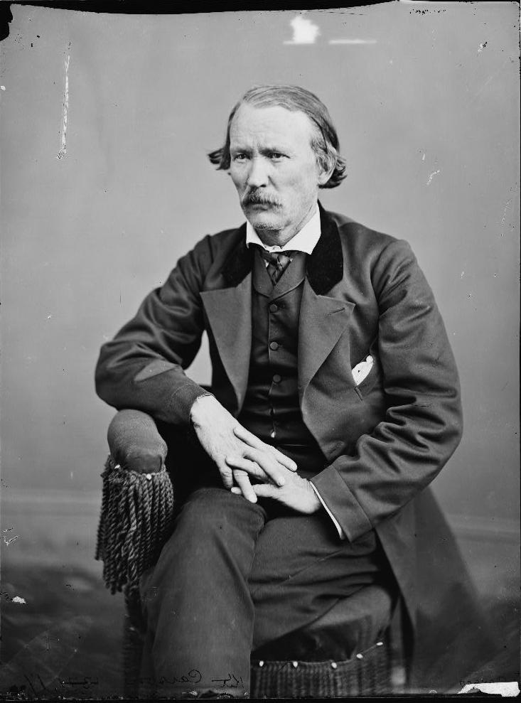 Kit Carson w 1868, podczas wizyty w Washingtonie