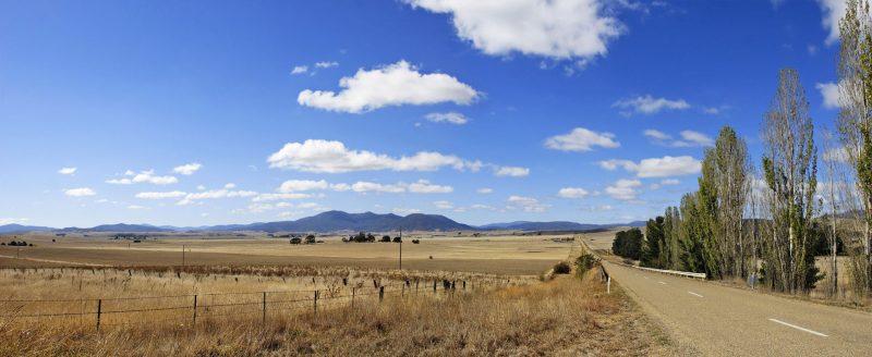 Susza w okolicach Benambry, Australia