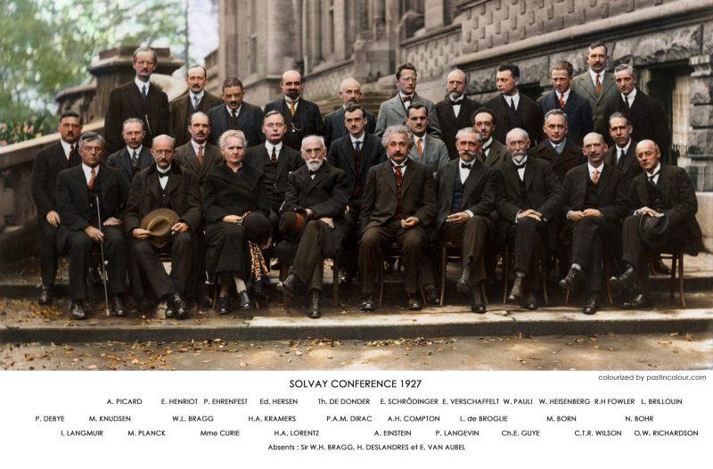 Kongres Solvaya z 1927 roku czyli najmądrzejsze zdjęcie świata :) Zdjęcie, na które nie mogę przestać się patrzeć :)