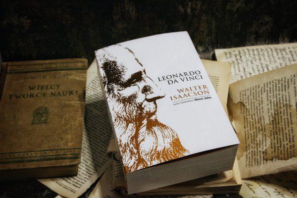 leonardo da vinci, bardziej lubię książki niż ludzi